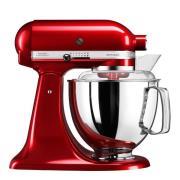 KitchenAid - Artisan Köksmaskin 4,8 L + tillbehör Röd Metallic