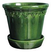 Köpenhavner Kruka/fat 12 cm Grön emerald