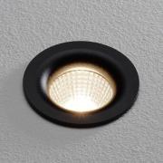Arcchio Fortio LED-lampa 3 000K 30° svart