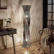 Rottinggolvlampa Kassia för gemytligt ljus